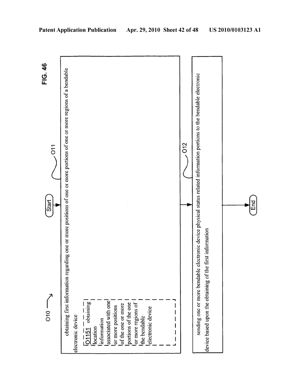 Bendable electronic device status information system and method - diagram, schematic, and image 43