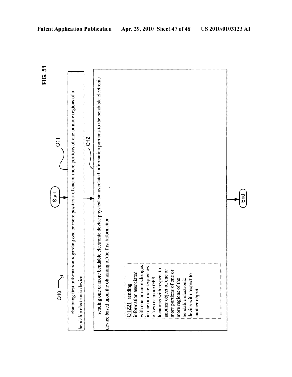Bendable electronic device status information system and method - diagram, schematic, and image 48