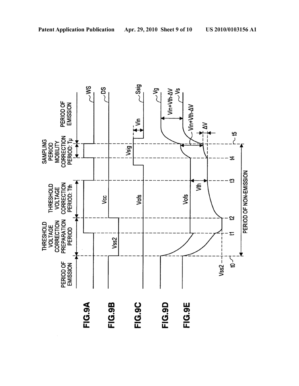 Image display apparatus and method of driving the image display apparatus - diagram, schematic, and image 10