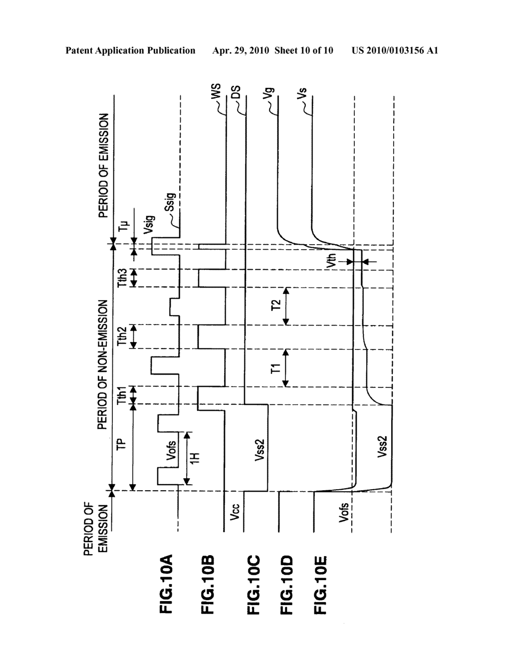 Image display apparatus and method of driving the image display apparatus - diagram, schematic, and image 11
