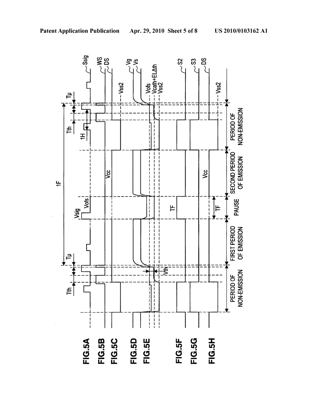 Image display apparatus and method of driving the image display apparatus - diagram, schematic, and image 06