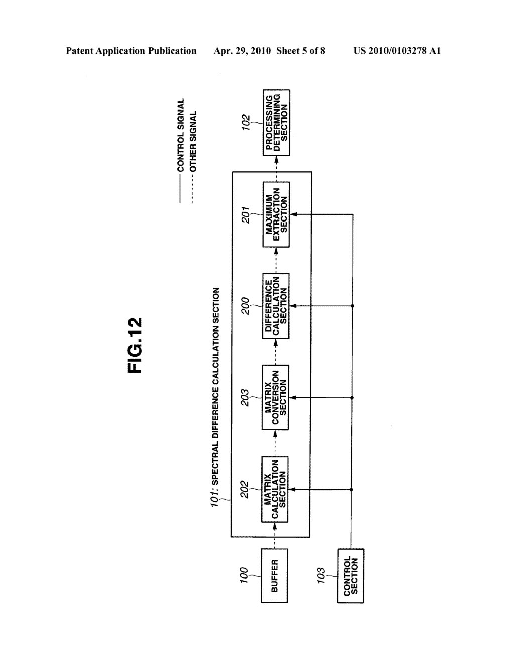 SIGNAL PROCESSING APPARATUS AND COMPUTER-READABLE RECORDING MEDIUM FOR RECORDING SIGNAL PROCESSING PROGRAM - diagram, schematic, and image 06