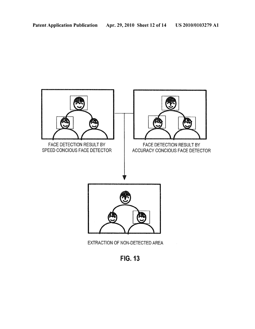 FACE DETECTION DEVICE, DIGITAL CAMERA, AND COMPUTER READABLE STORAGE MEDIUM WHICH STORES A FACE DETECTION PROGRAM - diagram, schematic, and image 13