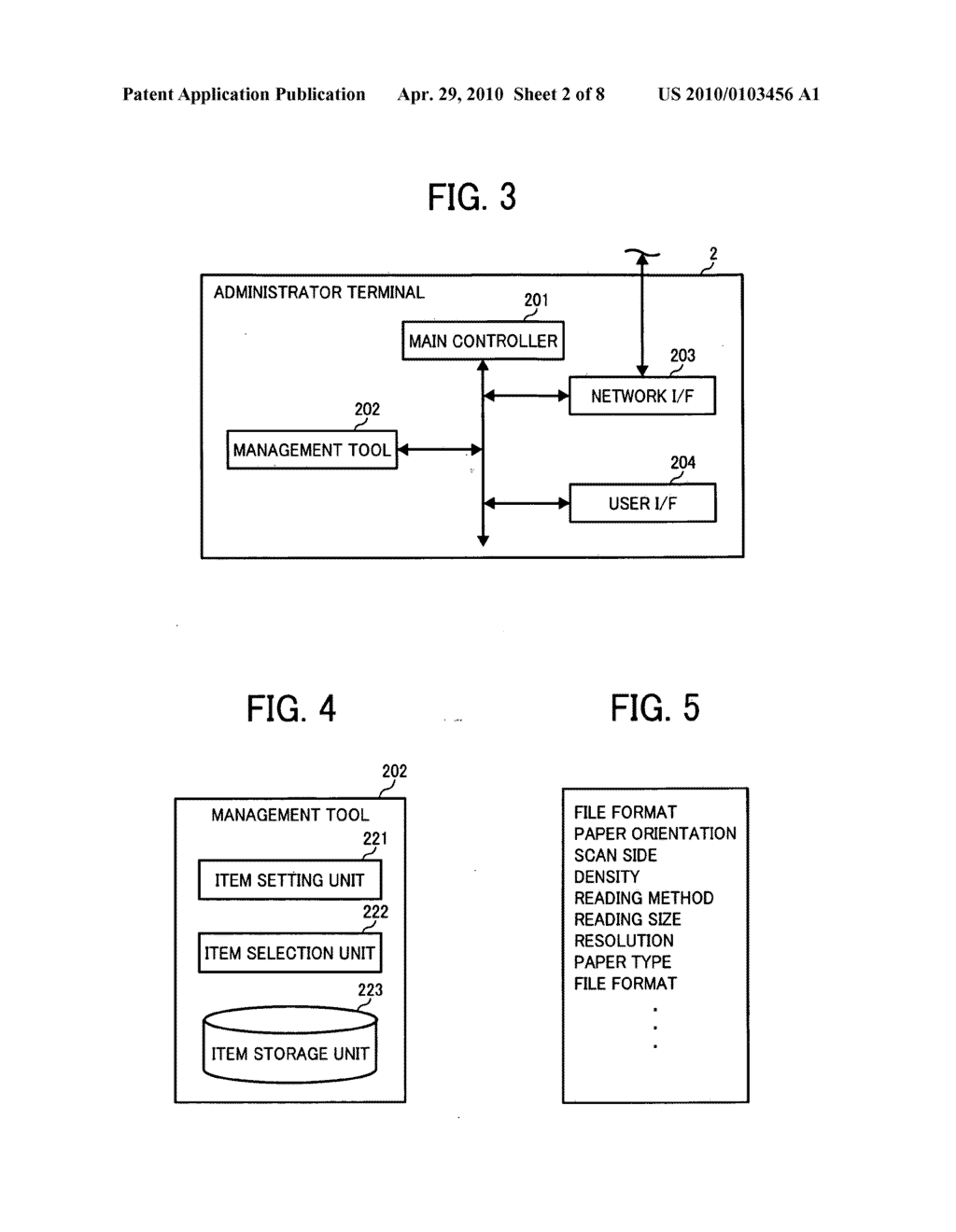 Apparatus and system of image processing apparatus, and medium storing image processing control program - diagram, schematic, and image 03