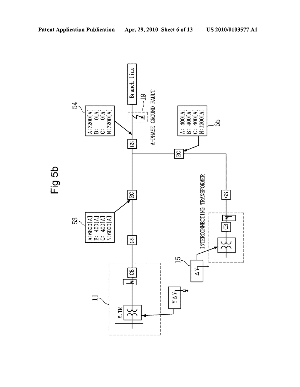 APPARATUS AND METHOD FOR PREVENTING REVERSE POWER FLOW OF OVER CURRENT RELAY  - diagram, schematic, and image 07