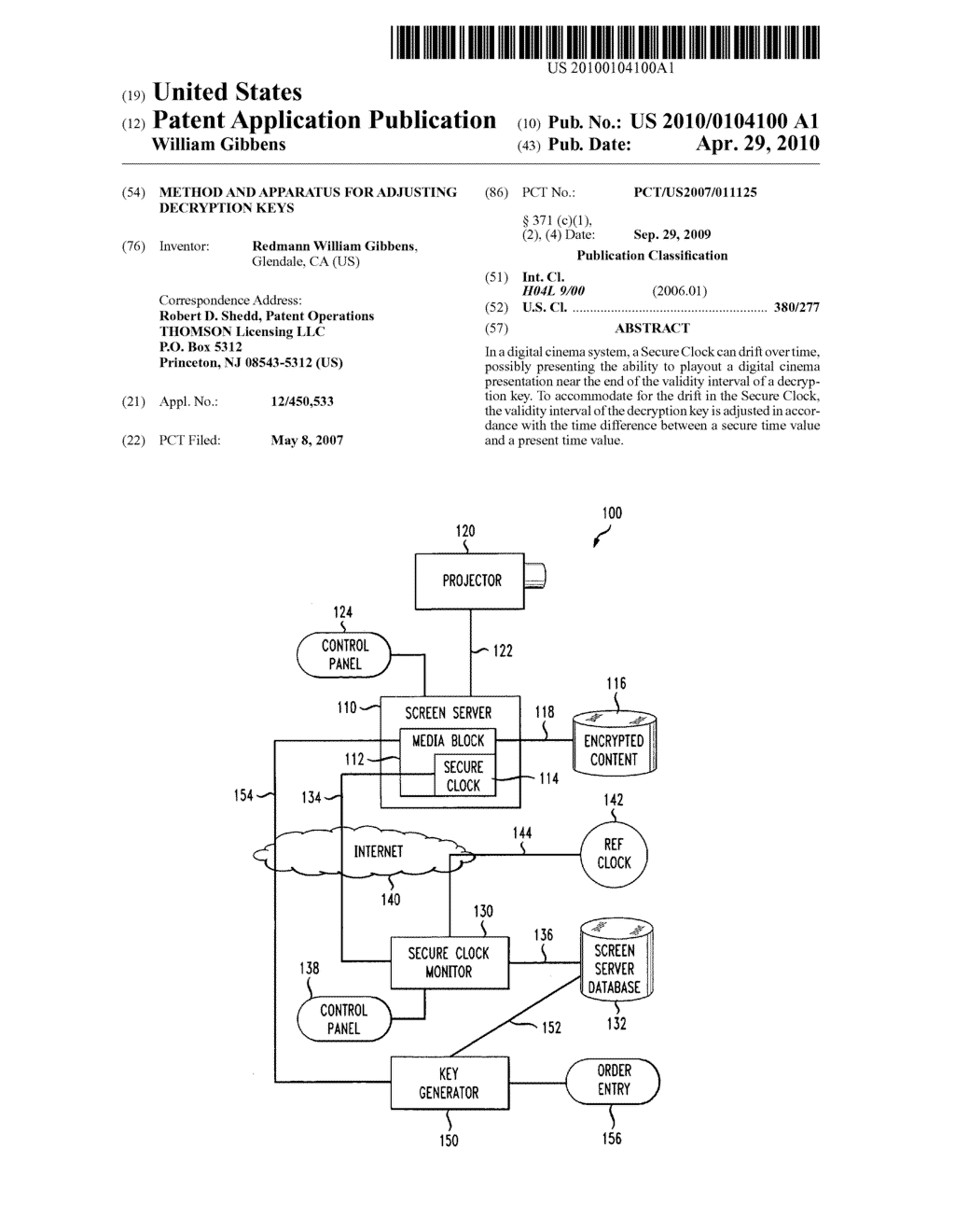 METHOD AND APPARATUS FOR ADJUSTING DECRYPTION KEYS - diagram, schematic, and image 01