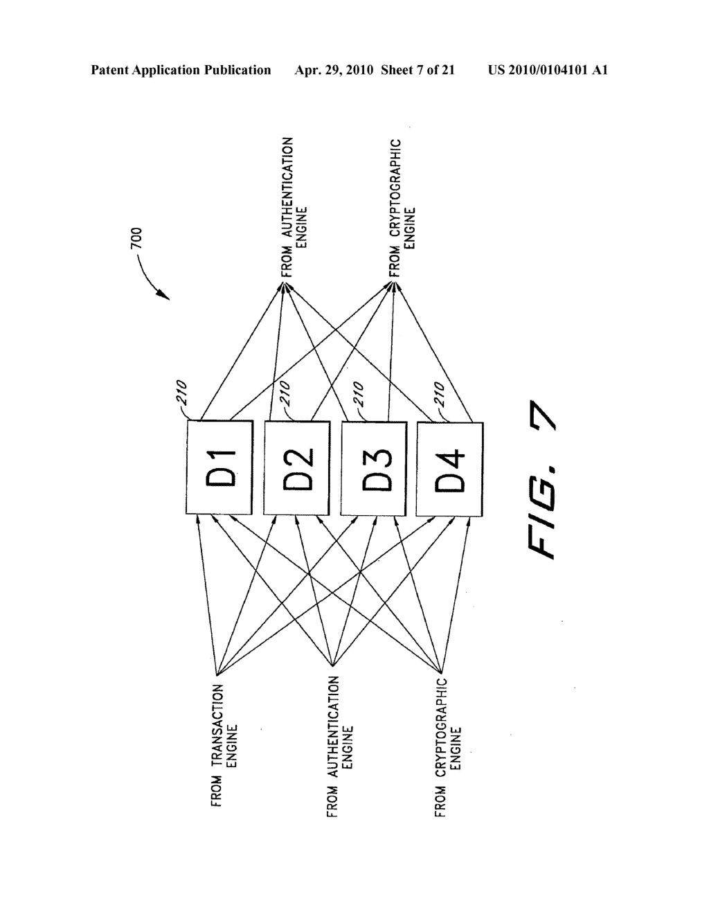 CRYPTOGRAPHIC SERVER WITH PROVISIONS FOR INTEROPERABILITY BETWEEN CRYPTOGRAPHIC SYSTEMS - diagram, schematic, and image 08