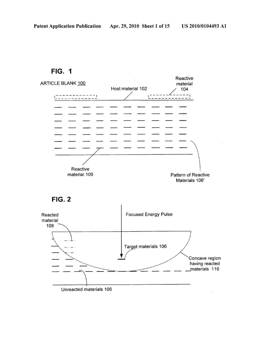 Reactive composite material structures with endothermic reactants - diagram, schematic, and image 02