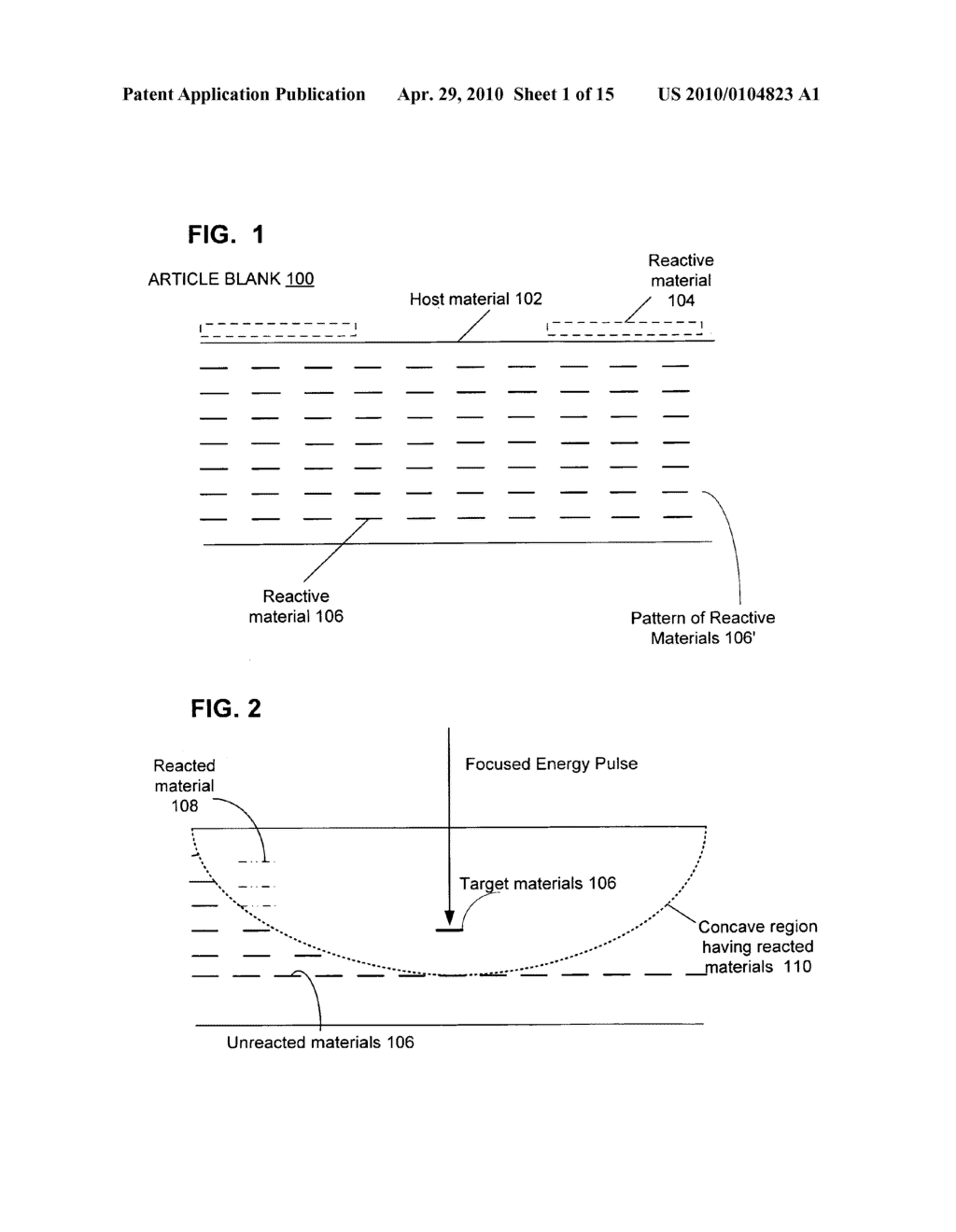 Reactive composite material structures with multiple reaction-propagation circuits - diagram, schematic, and image 02