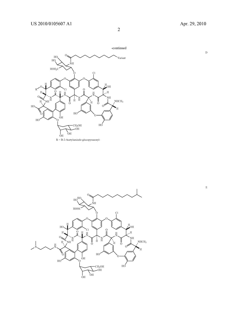 NOVEL SEMI-SYNTHETIC GLYCOPEPTIDES AS ANTIBACTERIAL AGENTS - diagram, schematic, and image 03