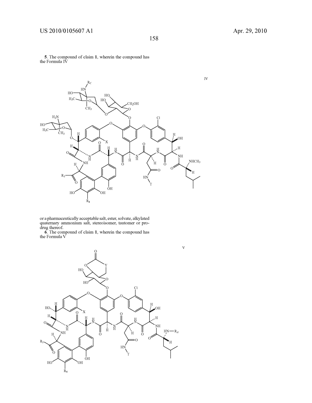 NOVEL SEMI-SYNTHETIC GLYCOPEPTIDES AS ANTIBACTERIAL AGENTS - diagram, schematic, and image 158