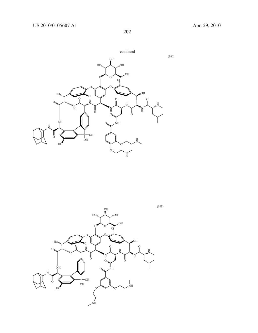 NOVEL SEMI-SYNTHETIC GLYCOPEPTIDES AS ANTIBACTERIAL AGENTS - diagram, schematic, and image 202
