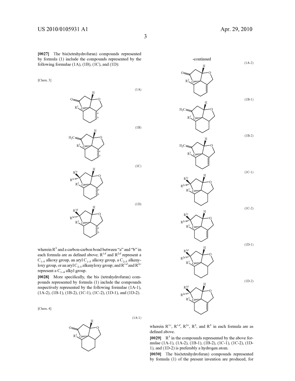 BIS(TETRAHYDROFURAN) COMPOUND, METHOD FOR PRODUCTION OF THE COMPOUND, AND USE OF THE COMPOUND - diagram, schematic, and image 09