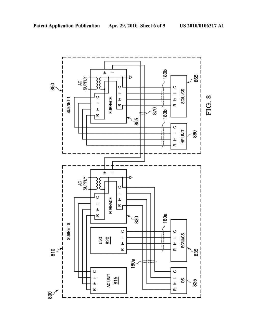 DEVICE ABSTRACTION SYSTEM AND METHOD FOR A DISTRIBUTED- ARCHITECTURE HEATING, VENTILATION AND AIR CONDITIONING SYSTEM - diagram, schematic, and image 07