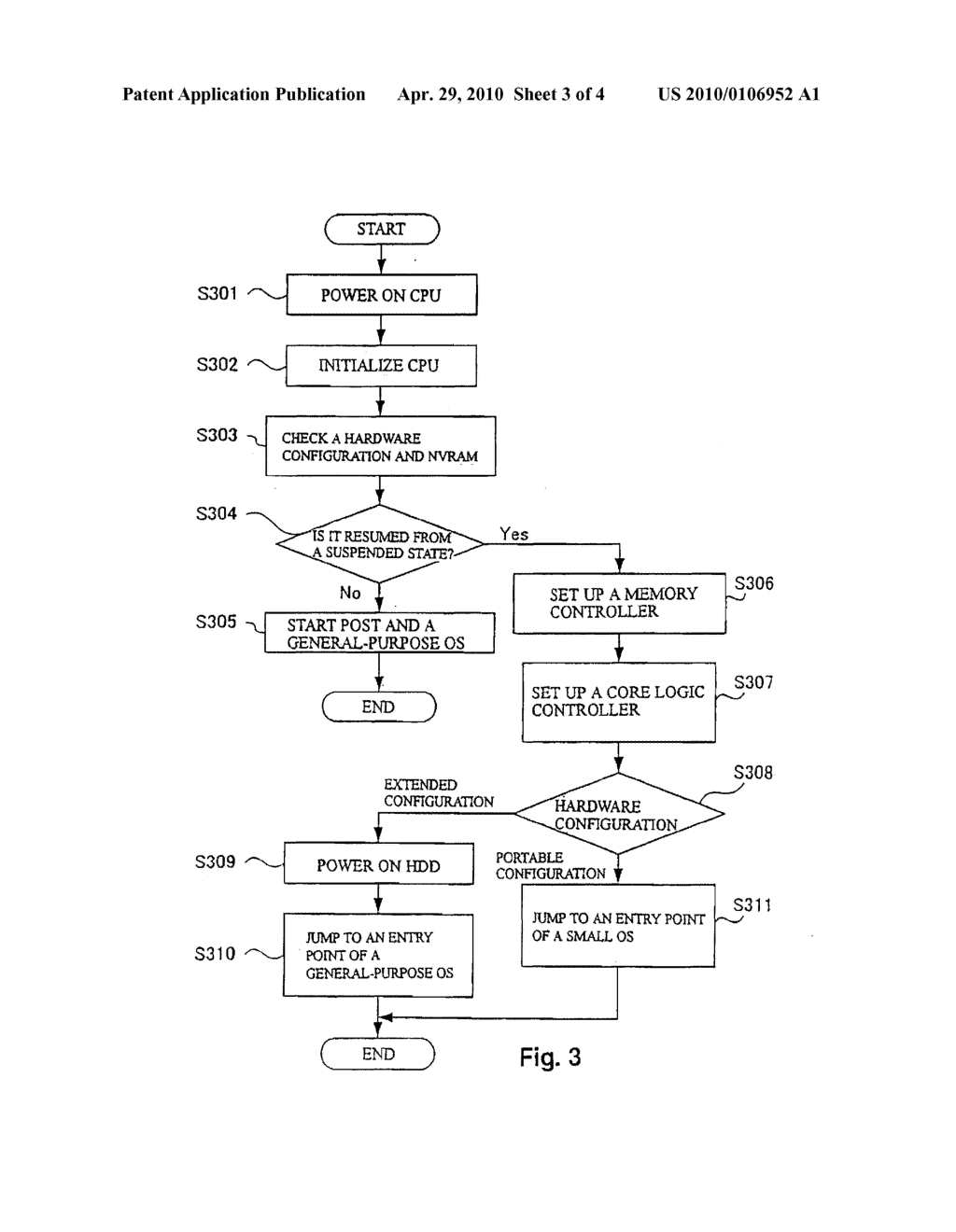 APPARATUS, METHOD AND PROGRAM PRODUCT FOR INITIATING COMPUTER SYSTEM OPERATION - diagram, schematic, and image 04
