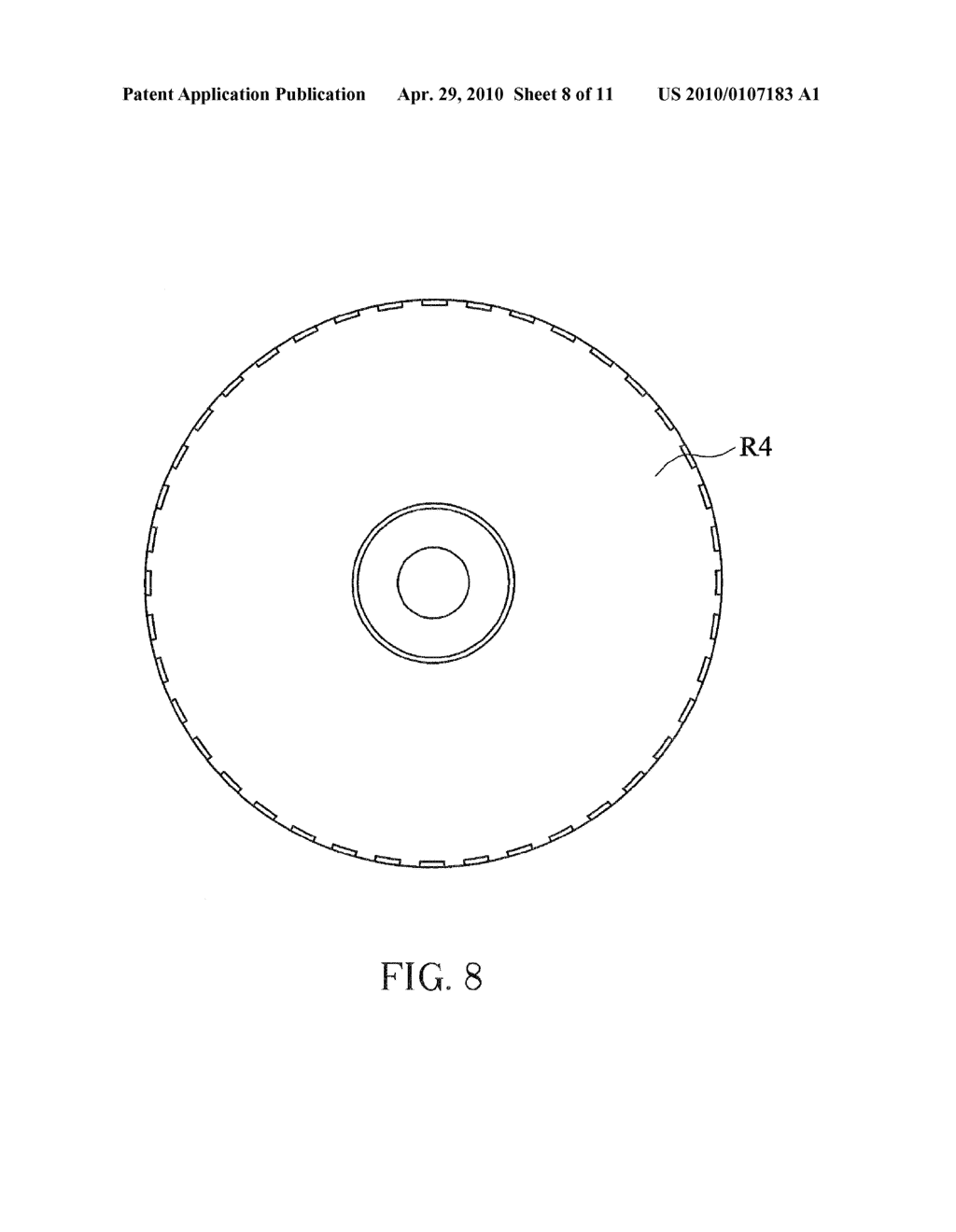 OPTICAL DISC HAVING GAS FLOW SPOILER AND THE METHOD FOR FABRICATING THE SAME - diagram, schematic, and image 09
