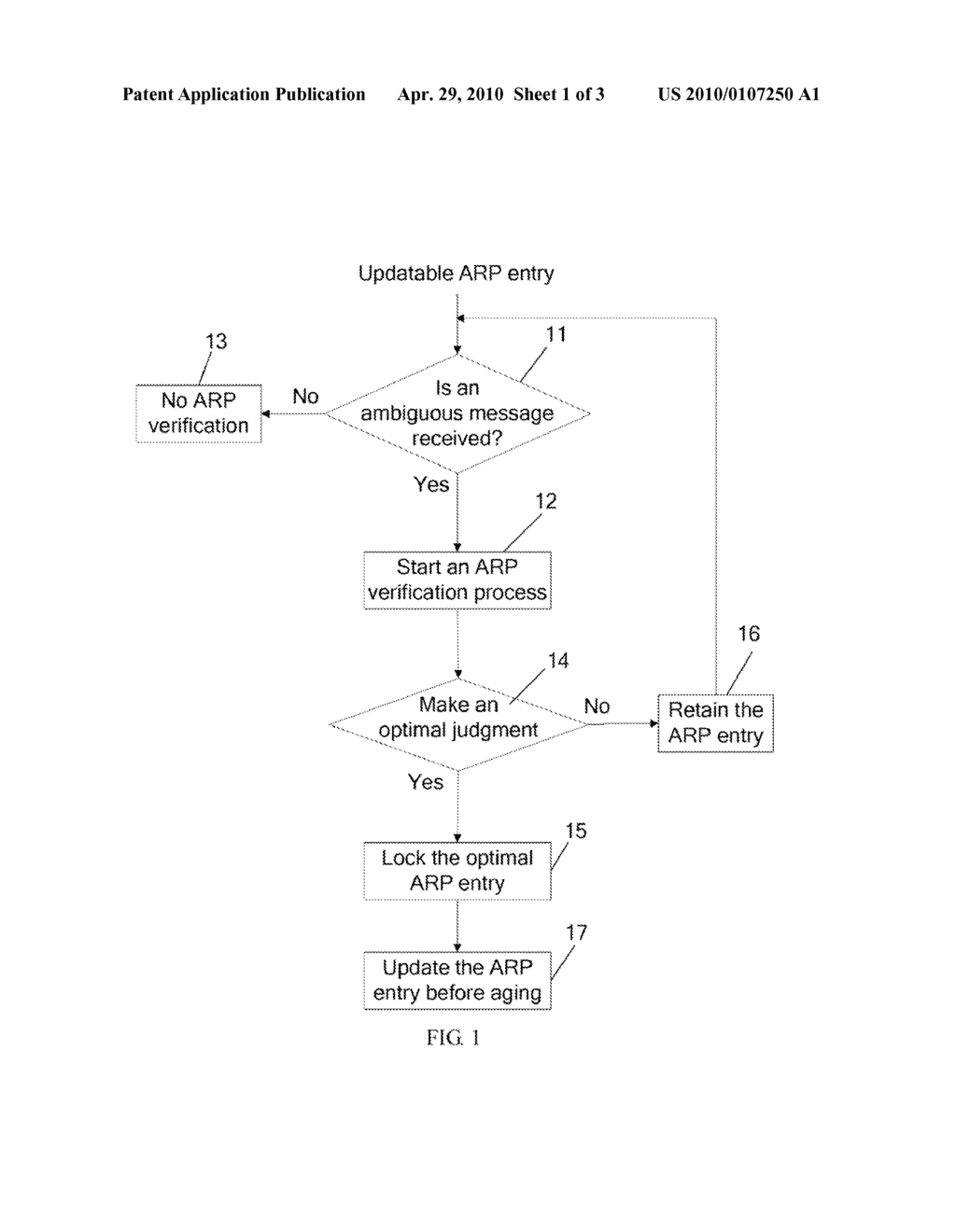 METHOD AND APPARATUS FOR DEFENDING AGAINST ARP SPOOFING ATTACKS - diagram, schematic, and image 02