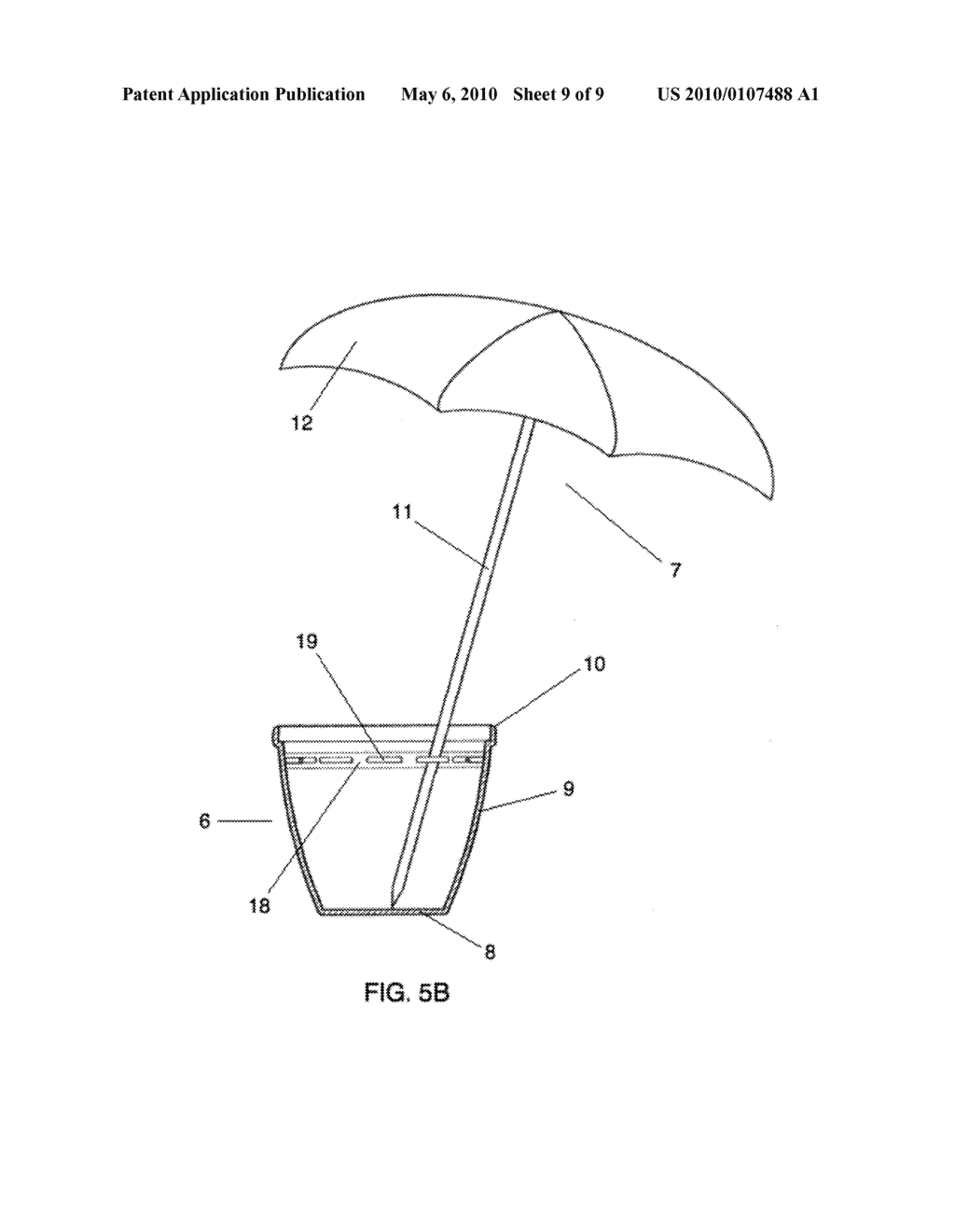 Flower pot supporting umbrella means apparatus diagram schematic flower pot supporting umbrella means apparatus diagram schematic and image 10 ccuart Images