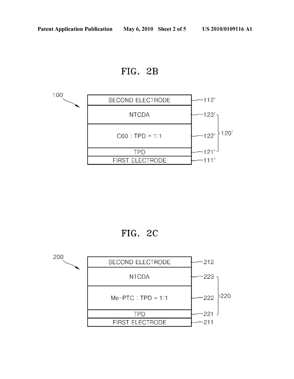 PHOTOELECTRIC CONVERSION FILM, PHOTOELECTRIC CONVERSION DEVICE AND COLOR IMAGE SENSOR HAVING THE PHOTOELECTRIC CONVERSION DEVICE - diagram, schematic, and image 03