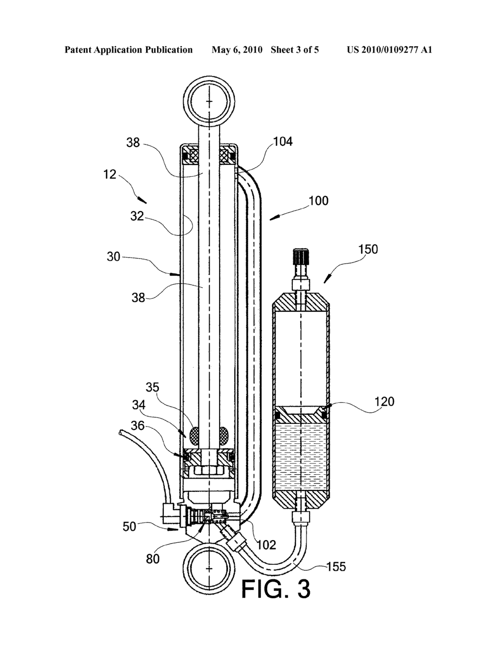 adjustable monotube shock absorber diagram, schematic, and image 04 Shock Absorber Parts Diagram