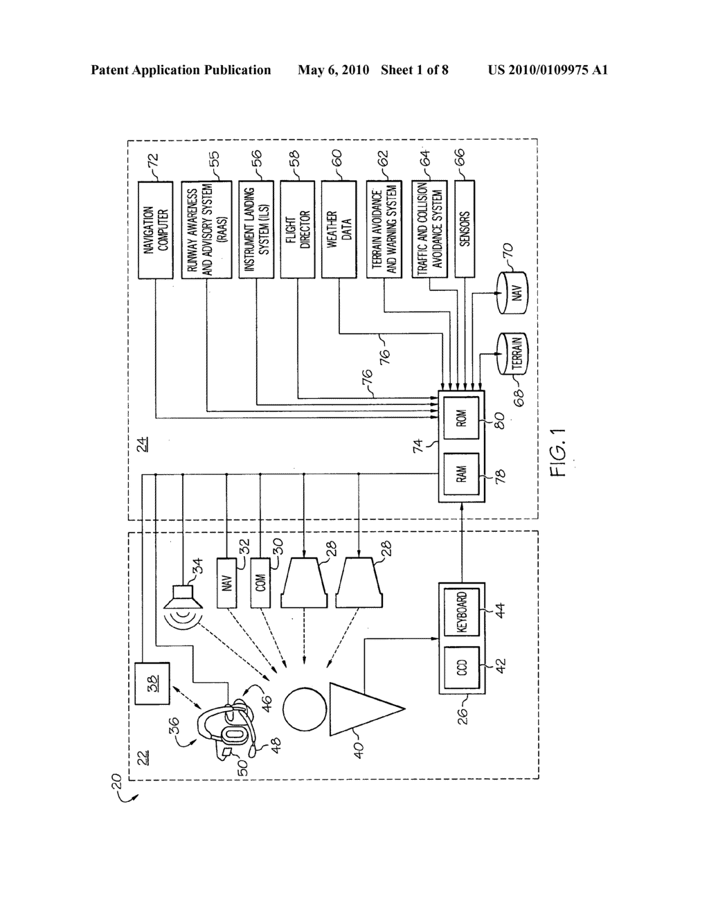 METHOD AND SYSTEM FOR OPERATING A NEAR-TO-EYE DISPLAY - diagram, schematic, and image 02
