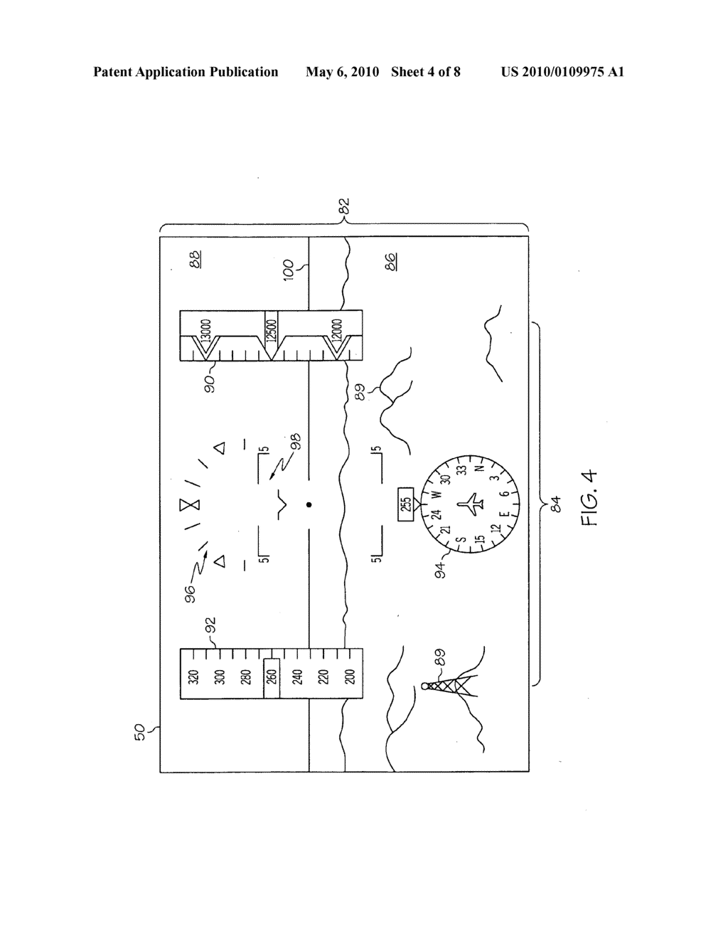 METHOD AND SYSTEM FOR OPERATING A NEAR-TO-EYE DISPLAY - diagram, schematic, and image 05