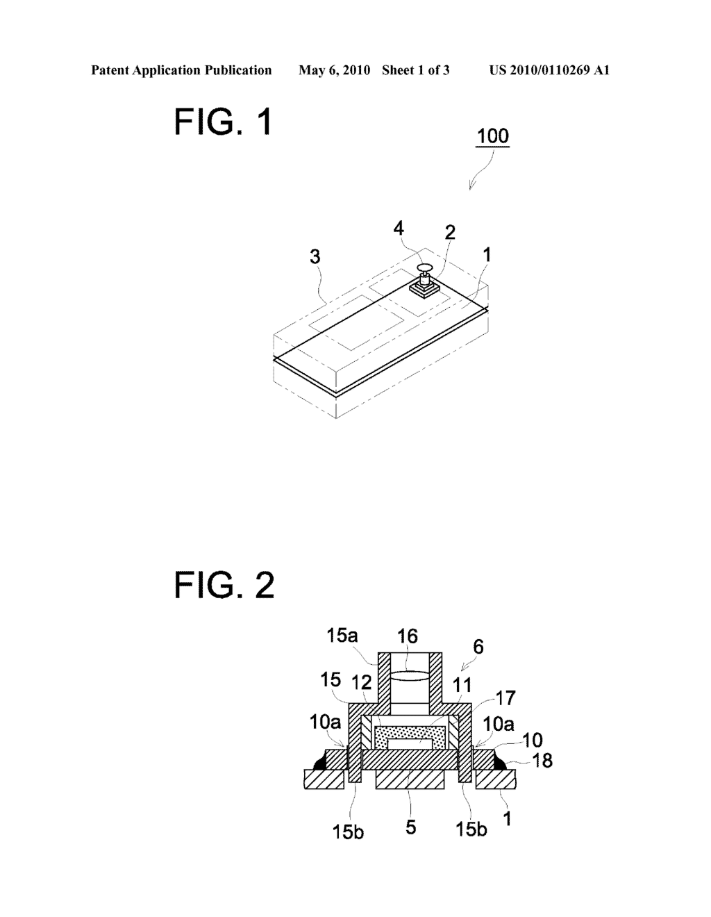 IMAGE PICK-UP DEVICE AND METHOD FOR MANUFACTURING THE DEVICE - diagram, schematic, and image 02