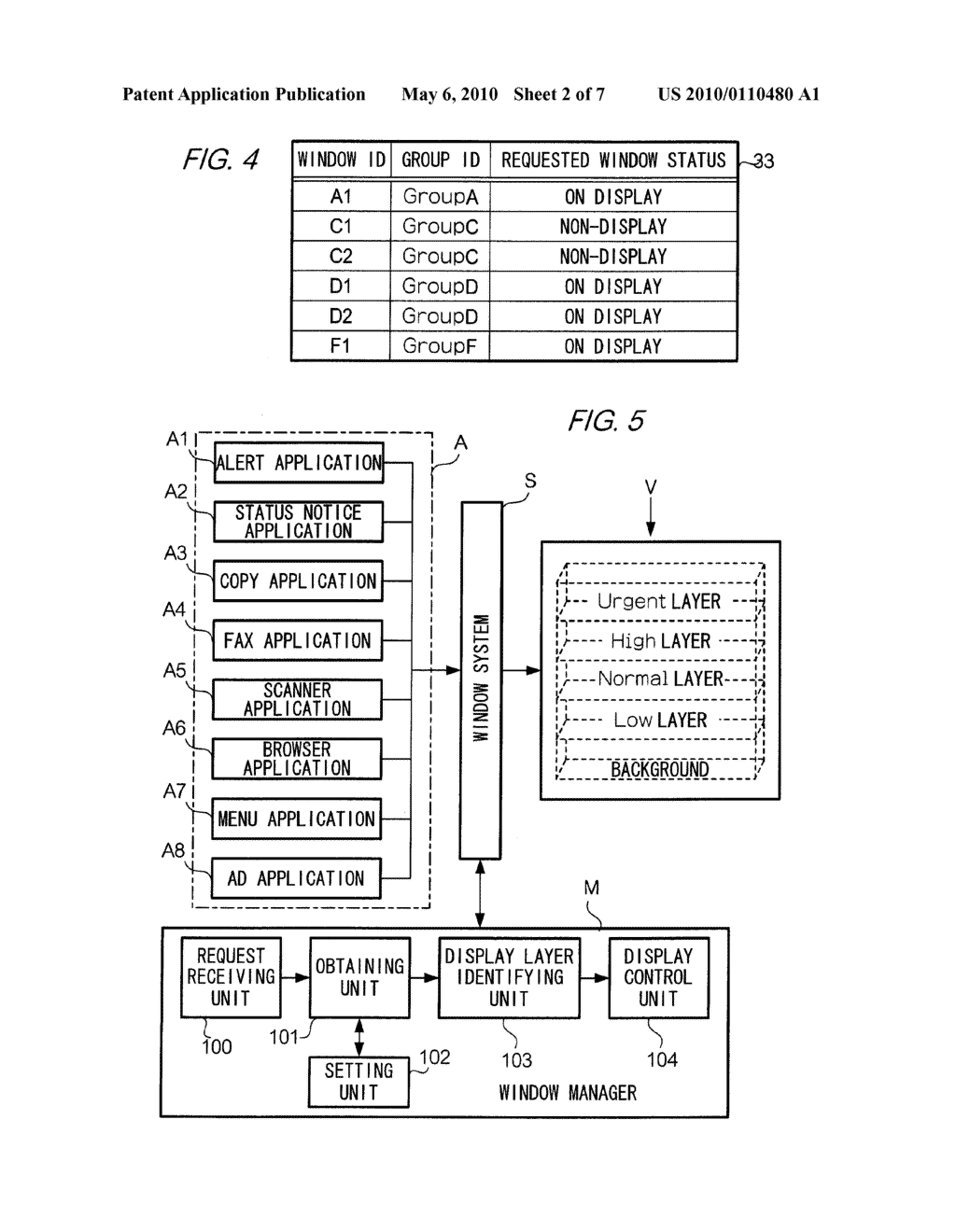 DISPLAY CONTROL DEVICE, DISPLAY CONTROL METHOD, IMAGE-FORMING DEVICE, COMPUTER READABLE MEDIUM, AND COMPUTER DATA SIGNAL - diagram, schematic, and image 03
