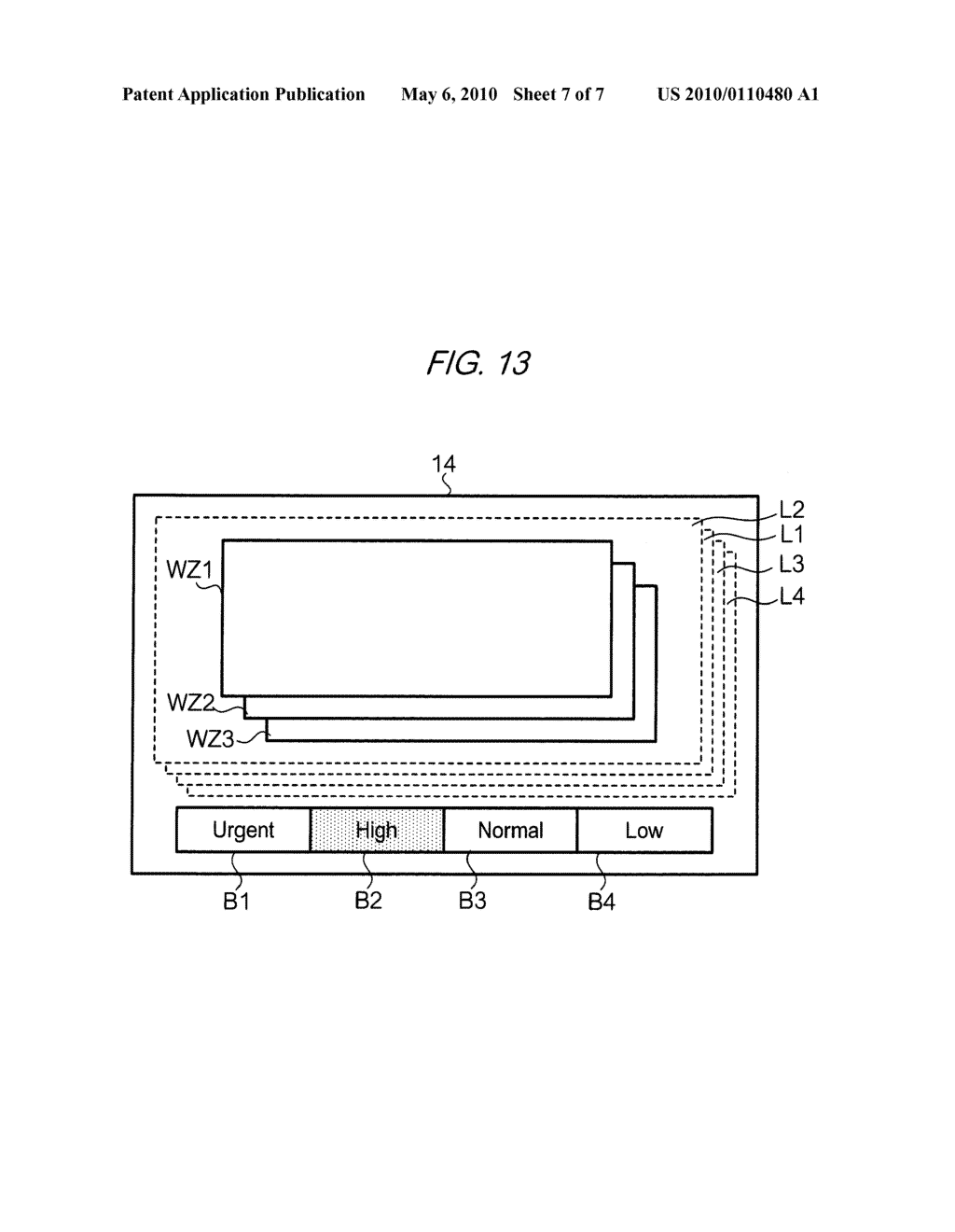 DISPLAY CONTROL DEVICE, DISPLAY CONTROL METHOD, IMAGE-FORMING DEVICE, COMPUTER READABLE MEDIUM, AND COMPUTER DATA SIGNAL - diagram, schematic, and image 08