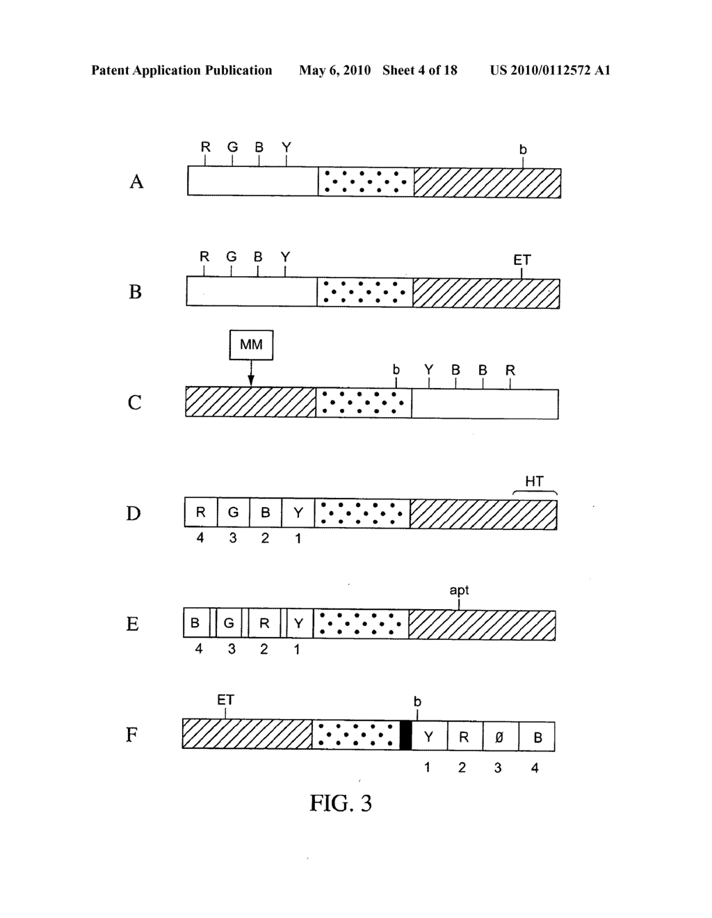 COMPOSITIONS, METHODS, AND KITS FOR FABRICATING CODED MOLECULAR TAGS - diagram, schematic, and image 05