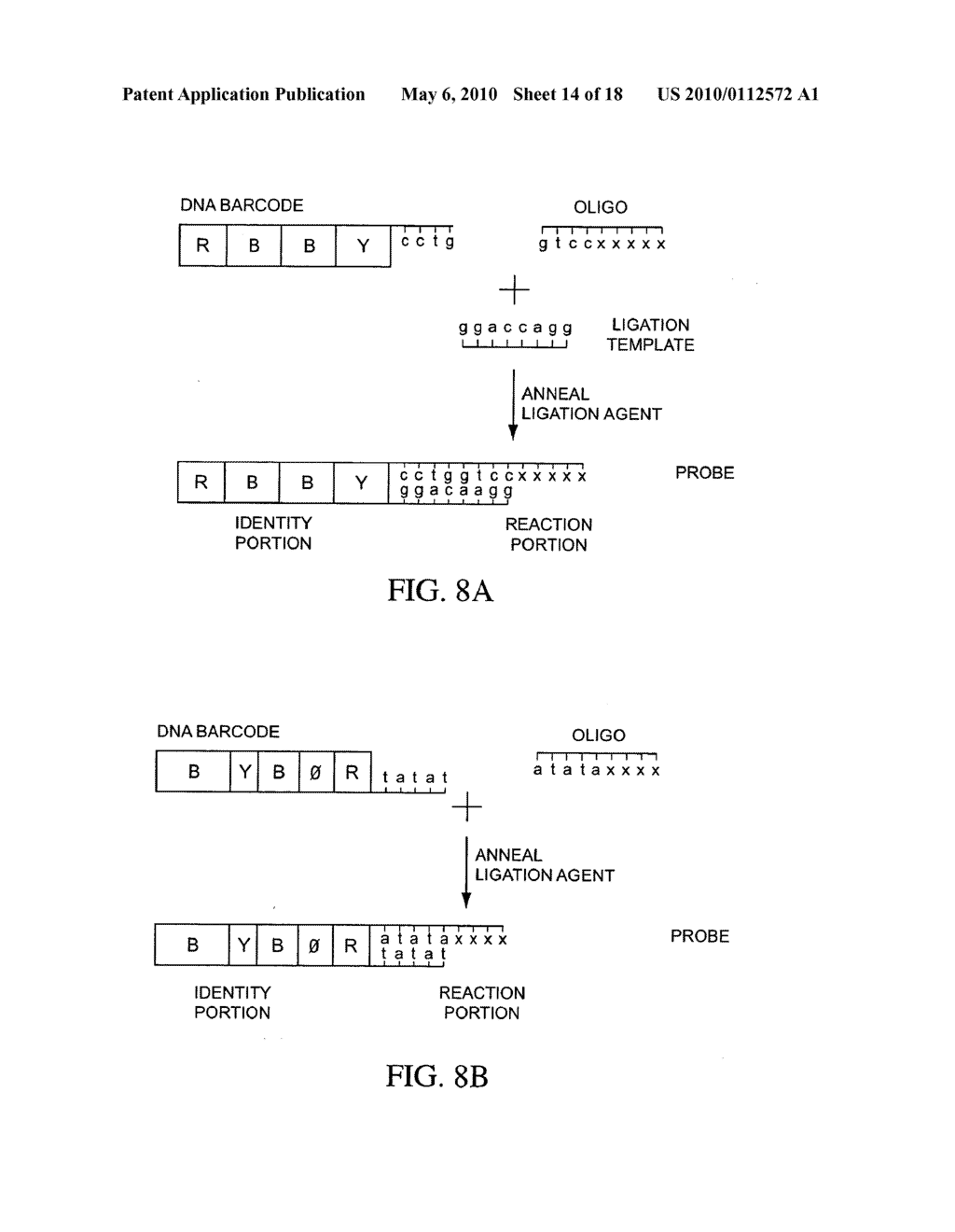 COMPOSITIONS, METHODS, AND KITS FOR FABRICATING CODED MOLECULAR TAGS - diagram, schematic, and image 15