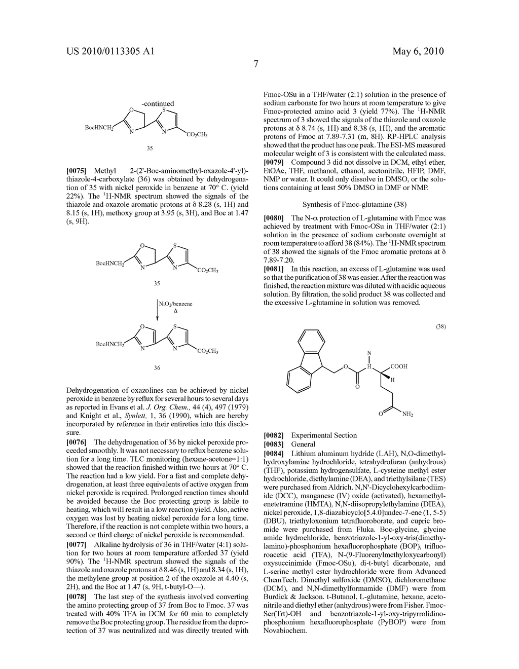 OXAZOLE AND THIAZOLE COMBINATORIAL LIBRARIES - diagram, schematic, and image 14