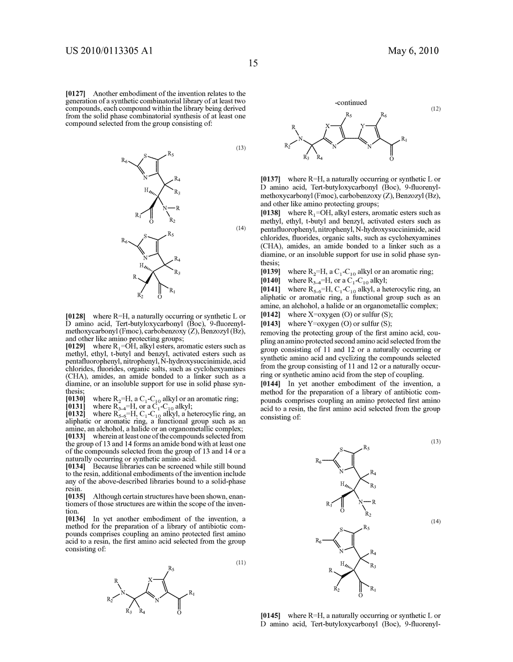 OXAZOLE AND THIAZOLE COMBINATORIAL LIBRARIES - diagram, schematic, and image 22