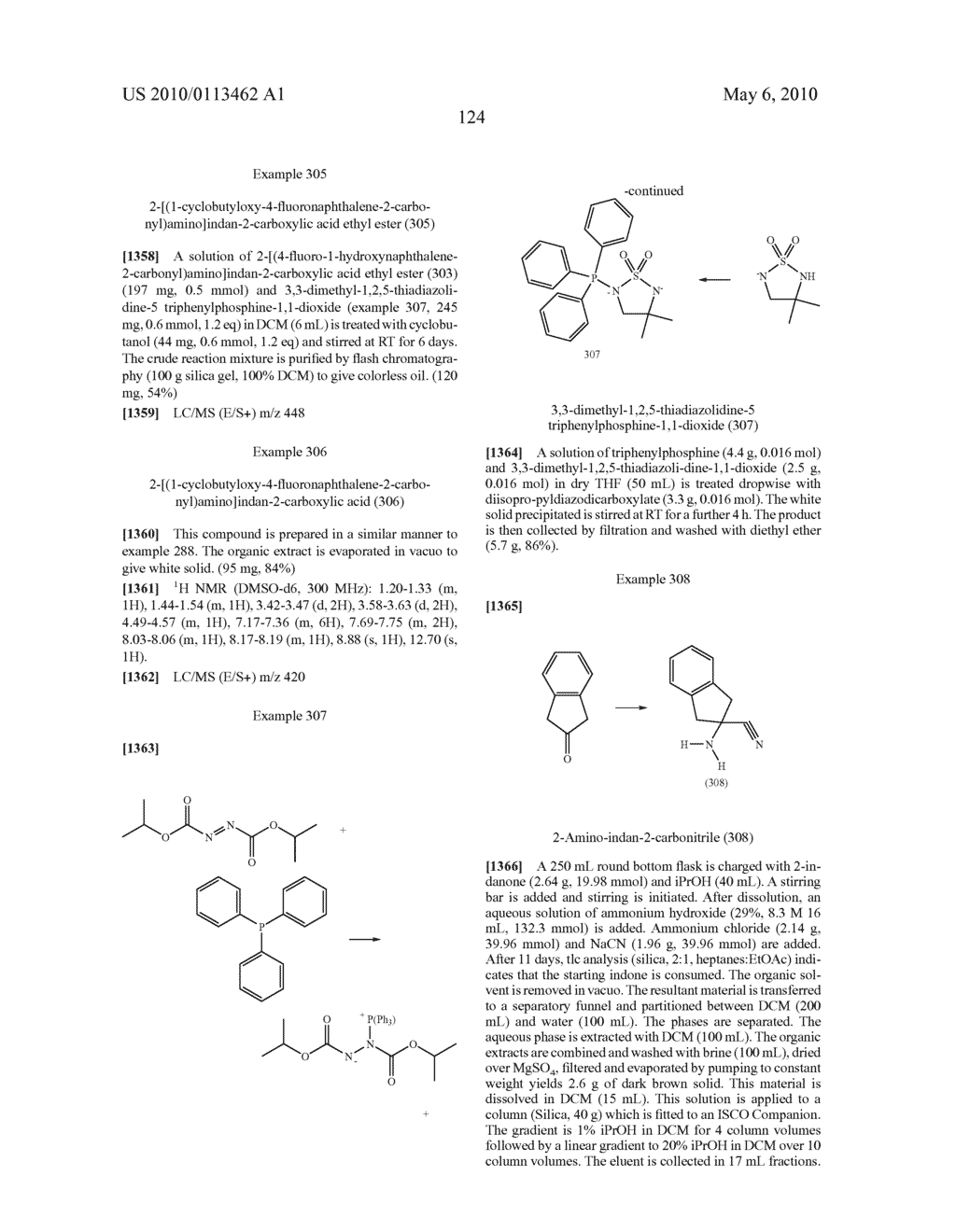SUBSTITUTED BENZOYLAMINO-INDAN-2-CARBOXYLIC ACIDS AND RELATED COMPOUNDS - diagram, schematic, and image 125