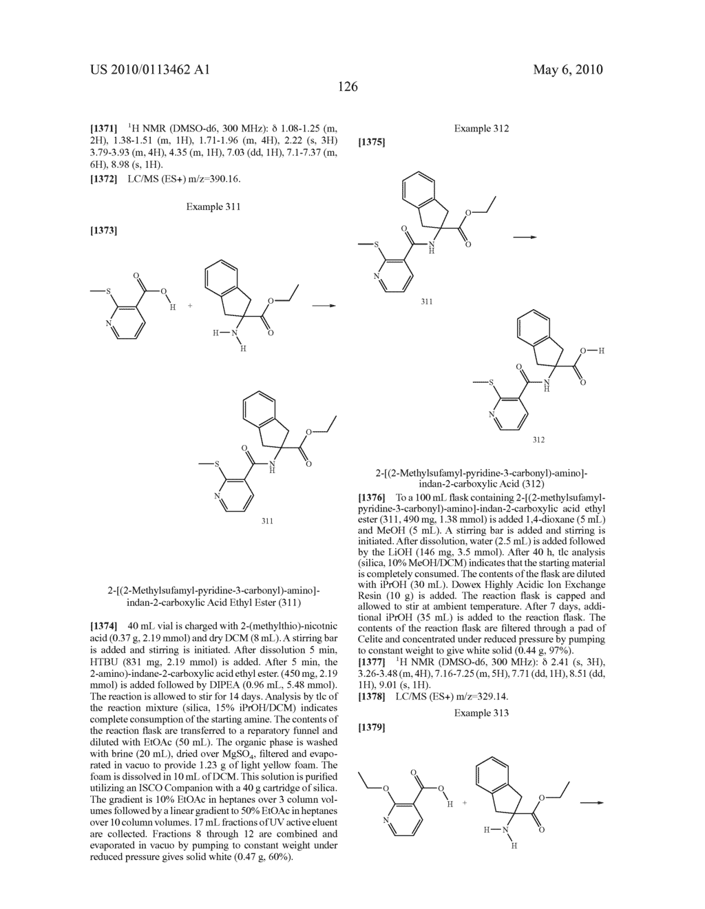 SUBSTITUTED BENZOYLAMINO-INDAN-2-CARBOXYLIC ACIDS AND RELATED COMPOUNDS - diagram, schematic, and image 127
