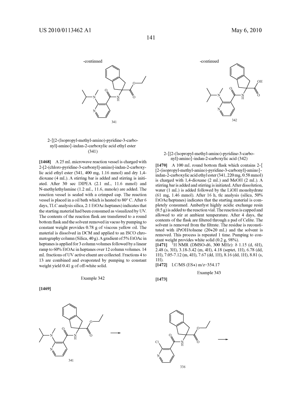 SUBSTITUTED BENZOYLAMINO-INDAN-2-CARBOXYLIC ACIDS AND RELATED COMPOUNDS - diagram, schematic, and image 142