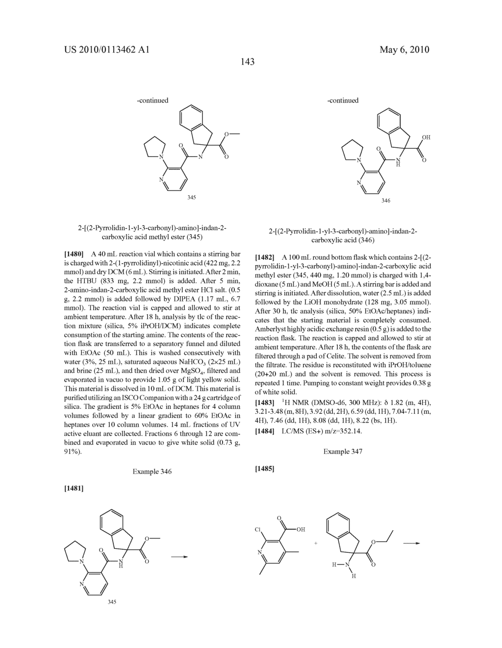 SUBSTITUTED BENZOYLAMINO-INDAN-2-CARBOXYLIC ACIDS AND RELATED COMPOUNDS - diagram, schematic, and image 144