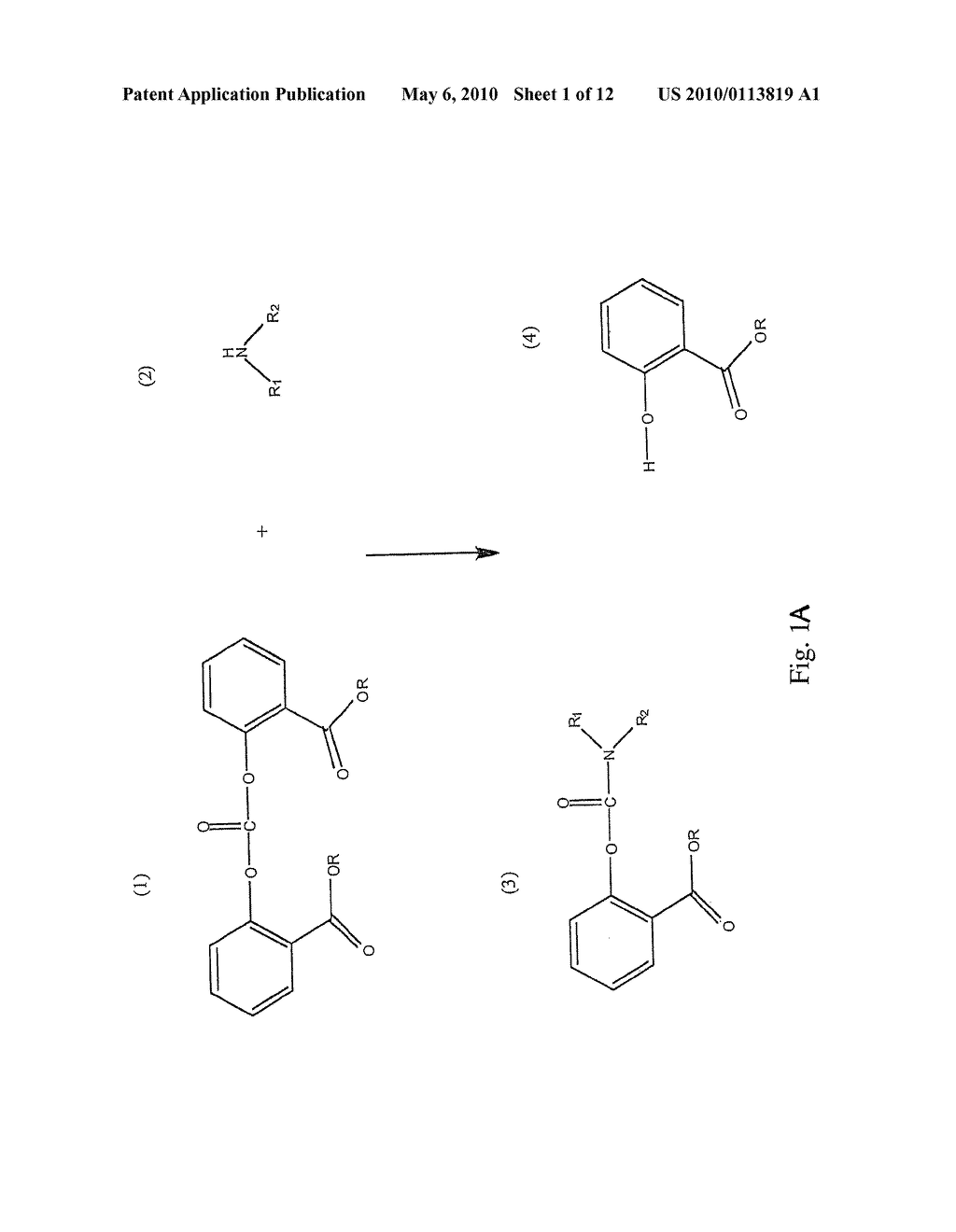 Method for Making Carbamates, Ureas and Isocyanates - diagram, schematic, and image 02