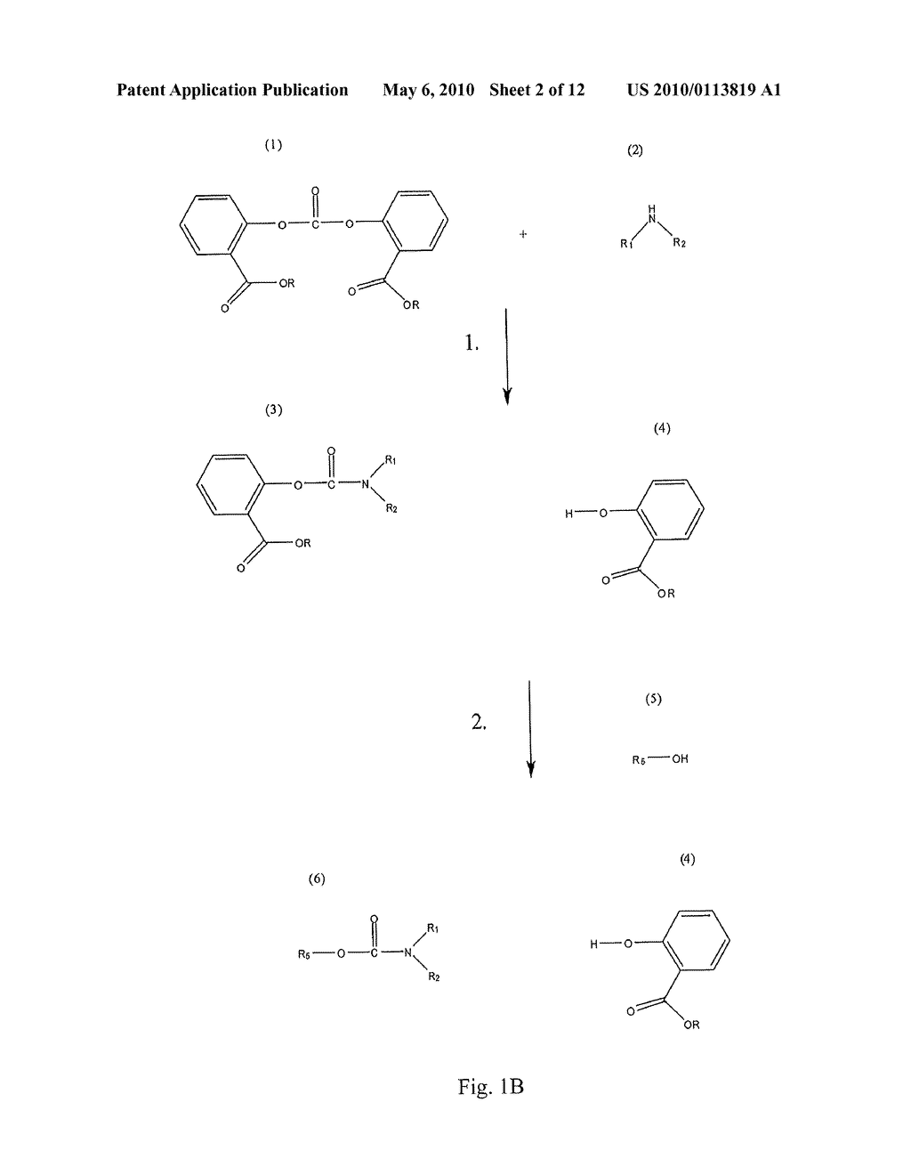 Method for Making Carbamates, Ureas and Isocyanates - diagram, schematic, and image 03