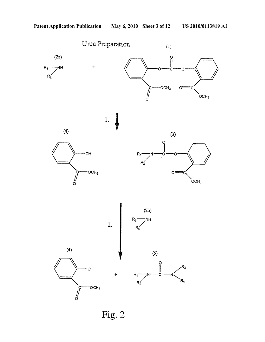 Method for Making Carbamates, Ureas and Isocyanates - diagram, schematic, and image 04