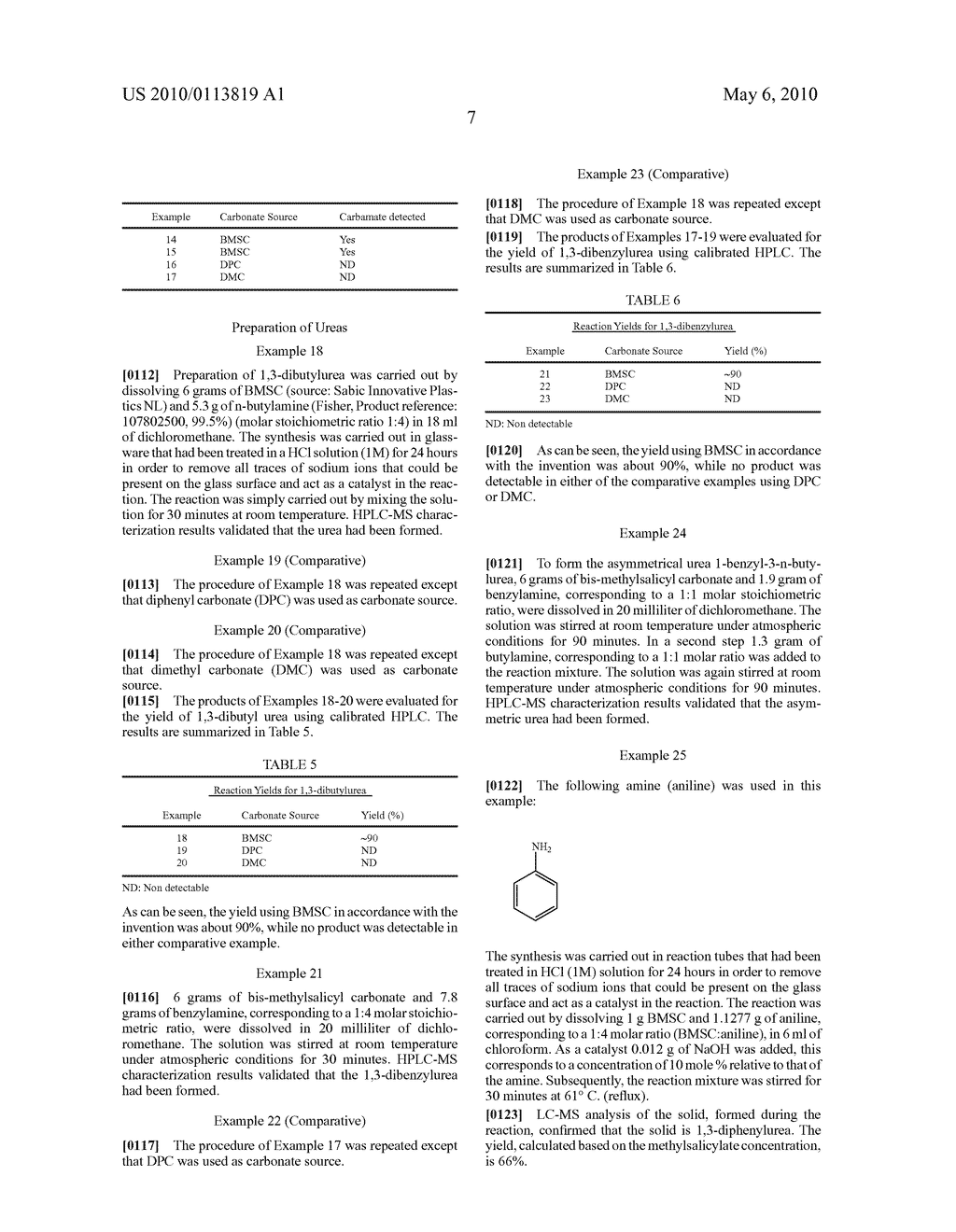 Method for Making Carbamates, Ureas and Isocyanates - diagram, schematic, and image 20