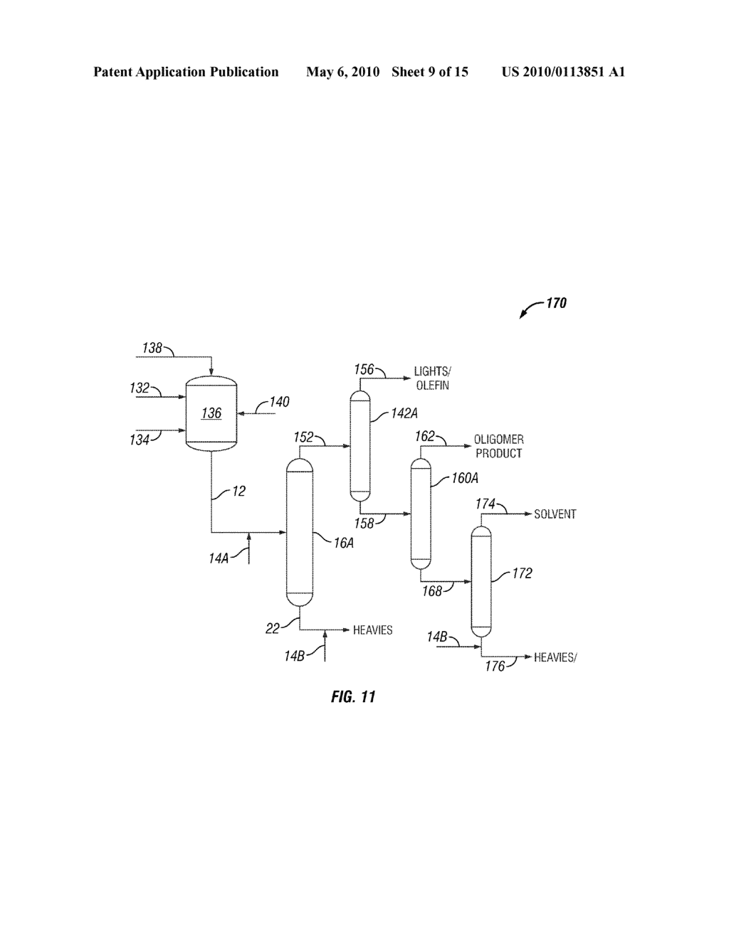 System and Method of Deactivating and Quenching an Oligomerization Catalyst - diagram, schematic, and image 10