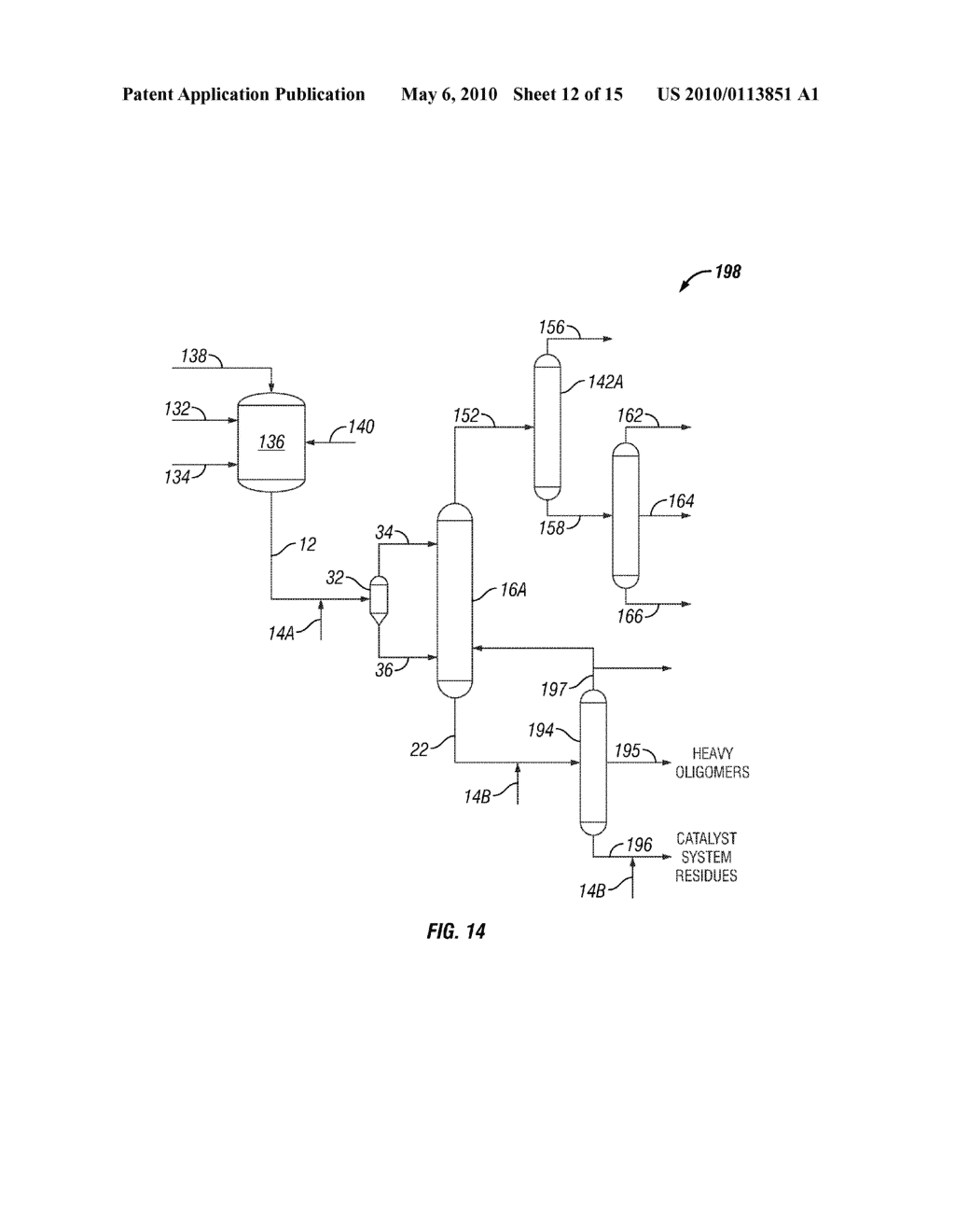 System and Method of Deactivating and Quenching an Oligomerization Catalyst - diagram, schematic, and image 13
