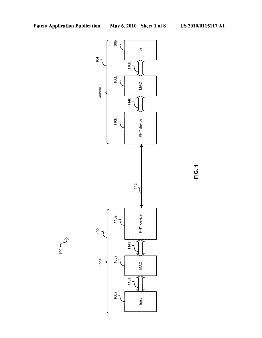 Method And System For Packet Based Signaling Between A MAC And A PHY To Manage Energy Efficient Network Devices And/Or Protocols - diagram, schematic, and image 02
