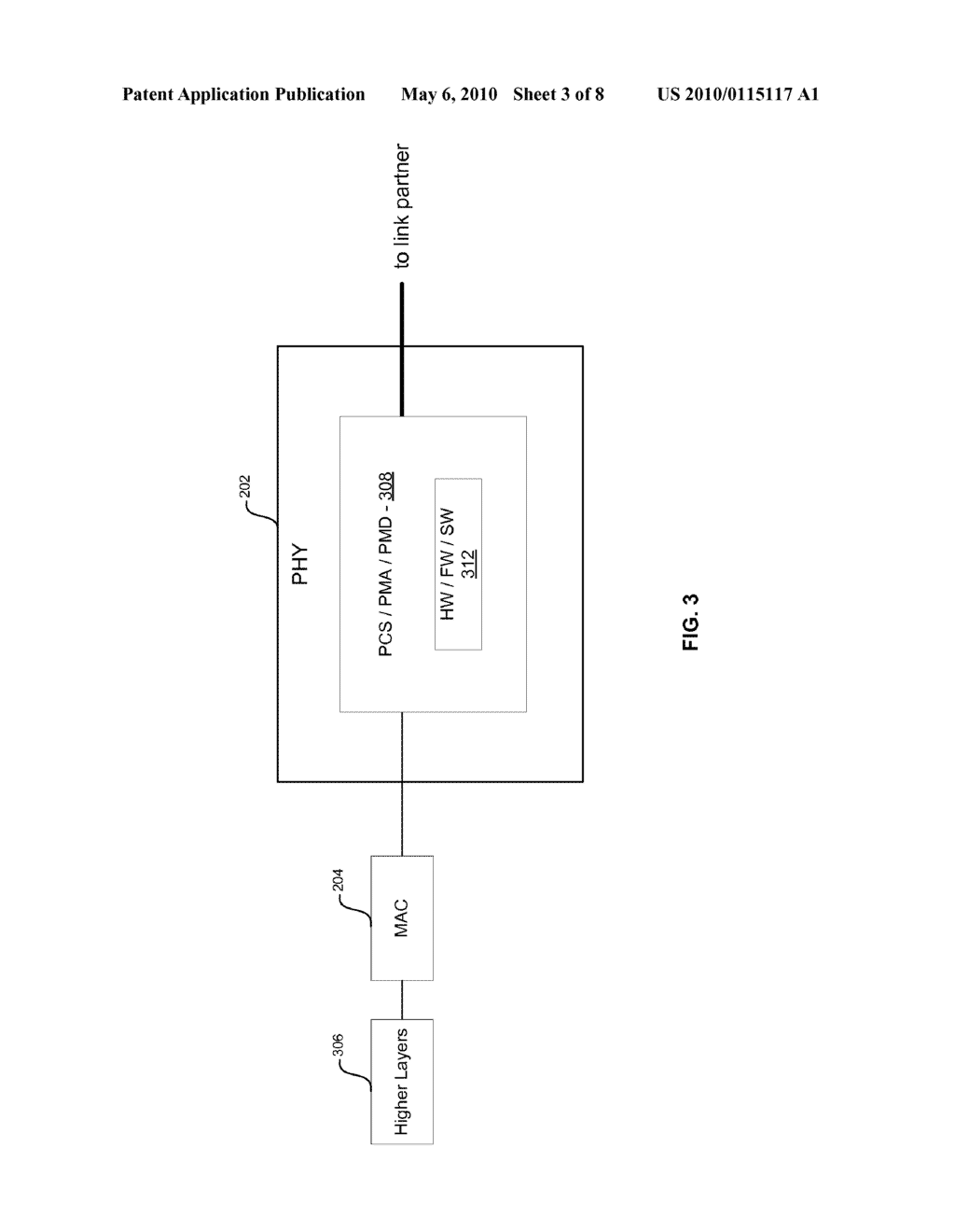 Method And System For Packet Based Signaling Between A MAC And A PHY To Manage Energy Efficient Network Devices And/Or Protocols - diagram, schematic, and image 04