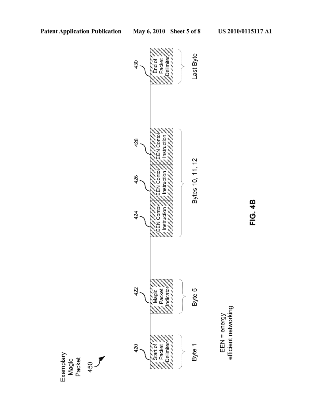 Method And System For Packet Based Signaling Between A MAC And A PHY To Manage Energy Efficient Network Devices And/Or Protocols - diagram, schematic, and image 06