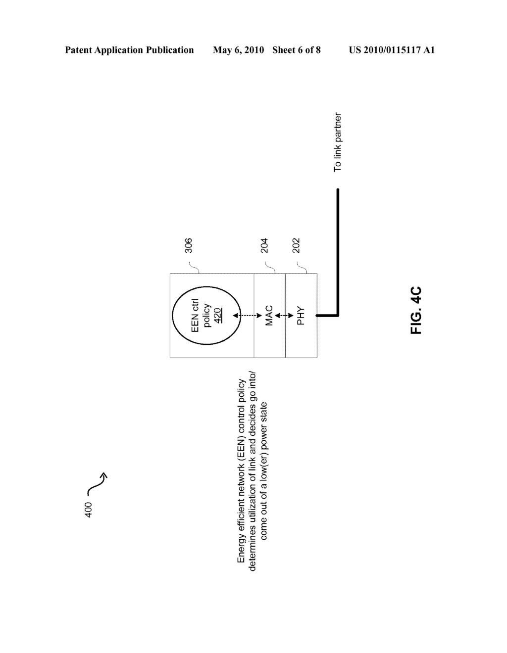 Method And System For Packet Based Signaling Between A MAC And A PHY To Manage Energy Efficient Network Devices And/Or Protocols - diagram, schematic, and image 07