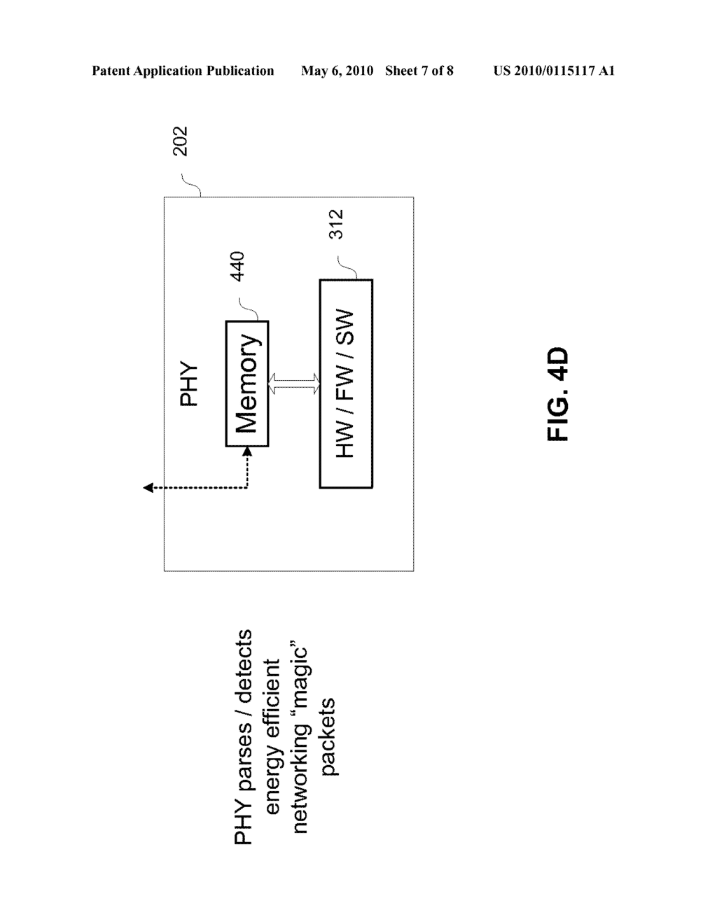 Method And System For Packet Based Signaling Between A MAC And A PHY To Manage Energy Efficient Network Devices And/Or Protocols - diagram, schematic, and image 08