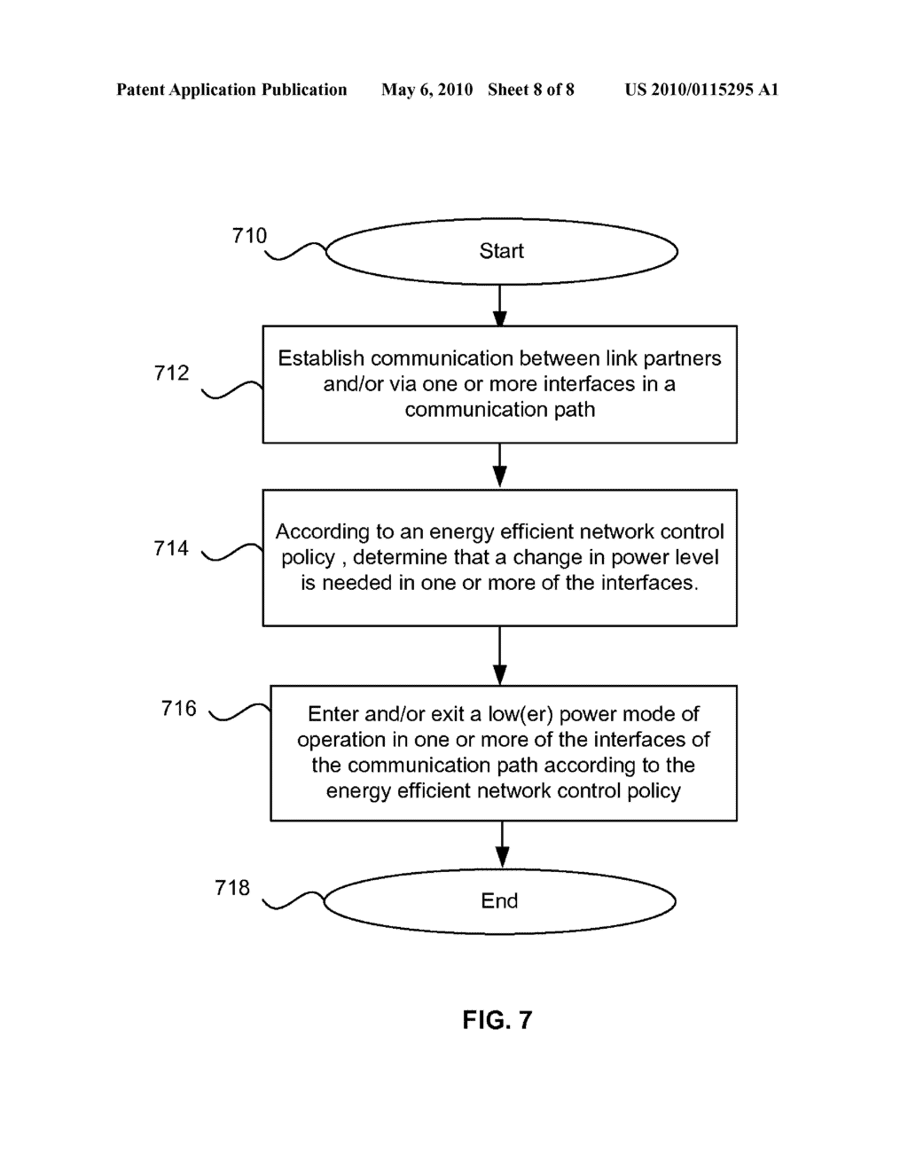 Method And System For Energy Efficient Communication Among One Or More Interfaces In A Communication Path - diagram, schematic, and image 09