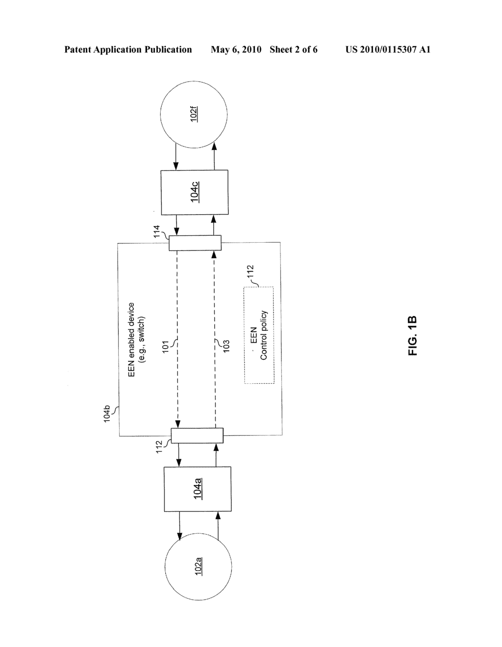 METHOD AND SYSTEM FOR ENERGY EFFICIENT NETWORKING VIA PACKET INSPECTION - diagram, schematic, and image 03